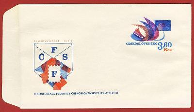 Československo Obálka - Filatelistické sjezdy 1974 (IV)
