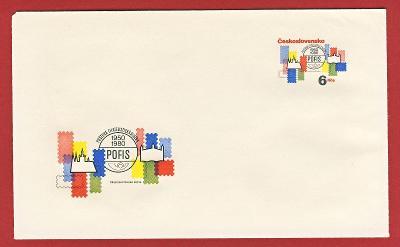 Československo Obálka - 30 výročí POFIS  1980