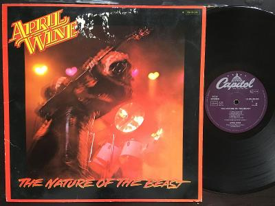 APRIL WINE, The Nature Of The Beast, 1981 VG GER HARD