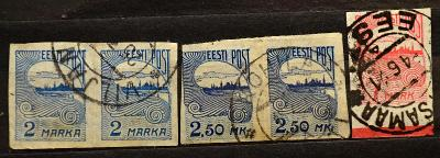 ESTLAND, 1920. Freimarken / B-729