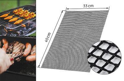 Teflonová mřížka na gril i do trouby 40 x 33 cm  + darek