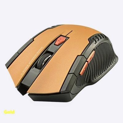 Nová optická herní bezdrátová myš 2.4GHz + drobný dárek