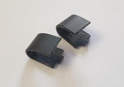 Krytky pantů z Asus Eee 1001PX