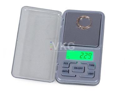 Digitální kapesní váha 200g/0,01g + dárek