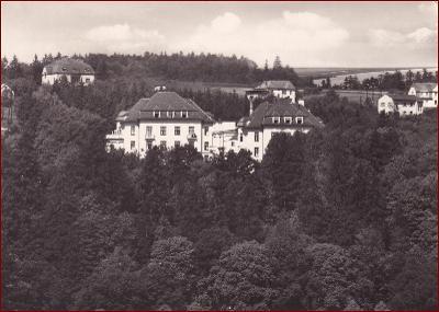 Teplice nad Bečvou * lázně, celkový pohled, krajina * Přerov * V896