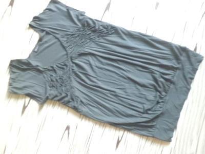 OKAY velmi pěkné pružné trikové šaty/delší tunika/ XL
