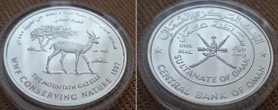 1997 --- Omán *** OHROŽENÉ DRUHY *** Horská gazela