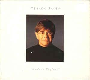 ELTON JOHN -   Made In England CD  1995