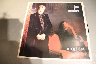 COCKER JOE - One night of sin LP