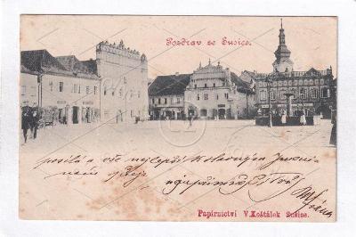 SUŠICE 1898 DA RU Hrádek u KOŠŤÁLEK ŠUMAVA Kolinec Horažďovice KLATOVY