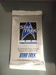 Balíček karet 1991 Star Trek 25th Anniversary S1 - Original TV series