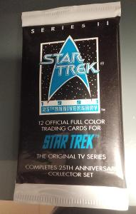 Balíček karet 1991 Star Trek 25th Anniversary S2 - Original TV series