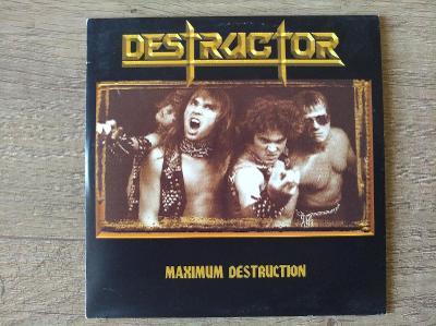 CD-DESTRUCTOR-Maximum Destruction/leg.thrash U.S.,pres 1998