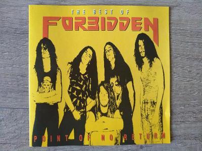 CD-FORBIDDEN-Point Of No Return/leg.thrash,U.S.,pres 1992