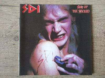 CD-S.D.I.-Sign Of The Wicked/leg.thrash,speed DE,reed 2005