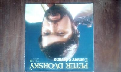 LP PETR DVORSKÝ LAMORE E DESTINO OPUS 1986