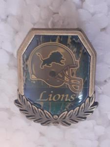 Odznak DETROIT LIONS - NFL 1996 - 1997 - americký fotbal