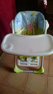 Dětská jídelní židlička Chicco Polly