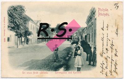 Piešťany 1899 , /5193/