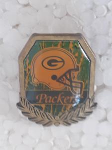 Odznak GREEN BAY PACKERS - NFL 1996 - 1997 - americký fotbal