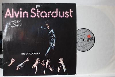 Alvin Stardust – The Untouchable LP 1974 vinyl Glam Rock Germany VG+