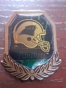 Odznak CAROLINA PANTHERS - NFL 1996 - 1997 - americký fotbal