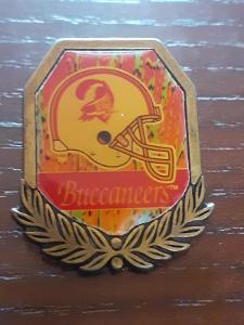Odznak  TAMPA BAY BUCCANEERS  - NFL 1996 - 1997 - americký fotbal