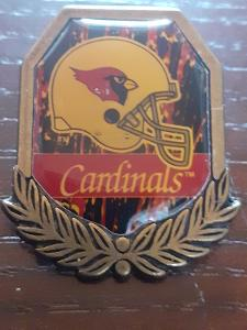 Odznak  ARIZONA CARDINALS  - NFL 1996 - 1997 - americký fotbal