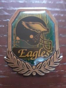 Odznak PHILADELPHIA EAGLES  - NFL 1996 - 1997 - americký fotbal