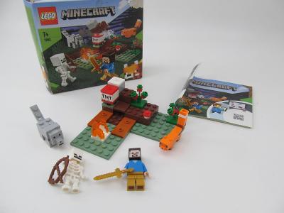 Lego set minecraft 21162 krabice navod