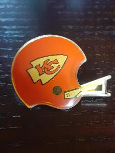 Odznak  KANSAS CITY CHIEFS  - NFL  - americký fotbal