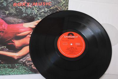 Roxy Music – Stranded LP 1973 vinyl UK RI 1977 super stav Glam Rock