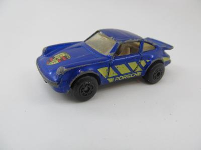 Kovové Autíčko Matchbox porsche turbo 1978