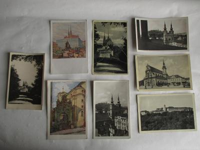 Staré pohledy Brno 1935 - 1944
