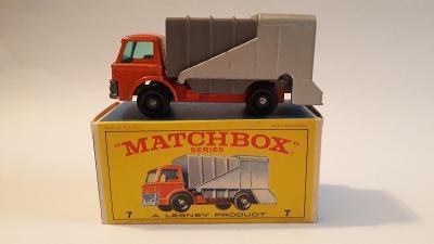 Matchbox No 36 Refuse Truck, originál krabička