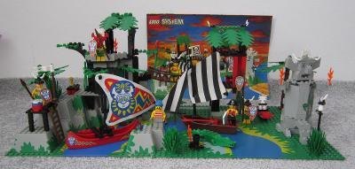 Lego 6278 Piráti, Sídlo islanderů z 90 let