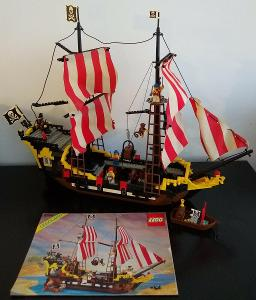 Lego 6285 Piráti, Pirátská loď z 90 let