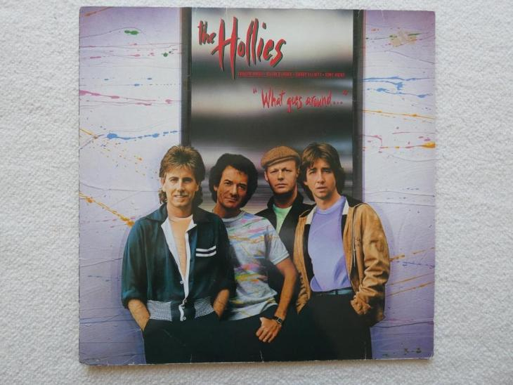 The Hollies - What goes around...- LP WEA 1983 Germany - Hudba
