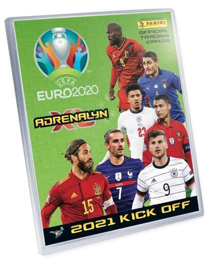 Originál Album na Fotbalové kartičky 2021 KICK OFF UEFA EURO 2020  - Sportovní sbírky