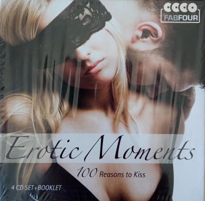 Erotic Moments  100 Reasons to Kiss  4 CD BOX Fab Four