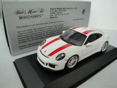 Porsche 911 R  2016 - Minichamps 1:43