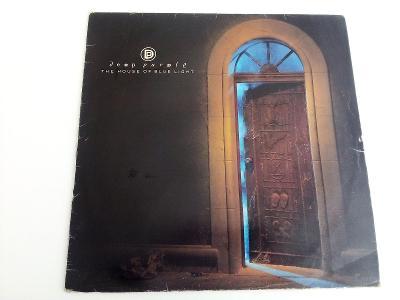 Deep Purple - The house of Blue Light -výb. stav- ČSSR 1988 LP