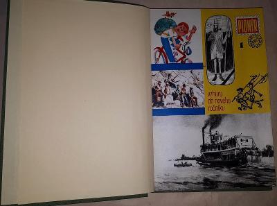 Pionýr kompletní ročník XX. 1972/73 svázaný do pevných desek