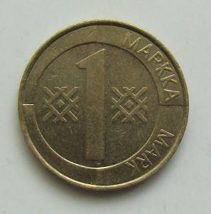 1 Markka 1994, Finsko