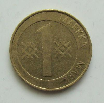 1 Markka 1993, Finsko
