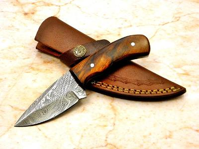 15/ Damaškový lovecky nůž. Rucni vyroba ORECH