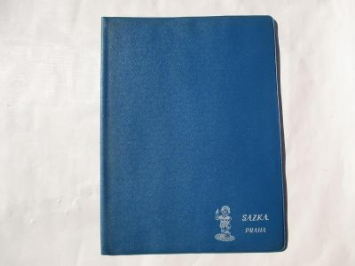 Staré desky na dokumenty Sazka Praha  ČSSR