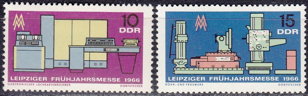 Německo / NDR / DDR 1966 Mi.1159-1160 MNH** - Filatelie