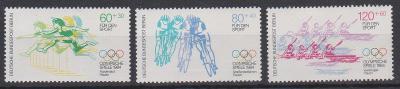 Německo - Berlín 1984, kompl. serie LOH Los Angeles, svěží