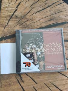 Dvořák Symphony No.8 in G Major Op. 88, CD, NEROZBALENÉ